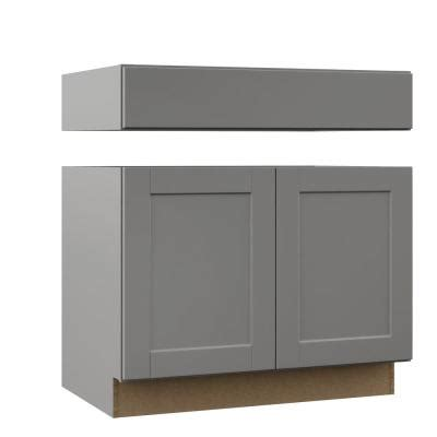 photos of kitchen cabinets shaker base cabinets in dove gray kitchen the home depot 4164