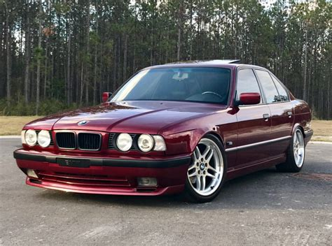 bmw 540i images 1995 bmw 540i 6 speed for on bat auctions sold for
