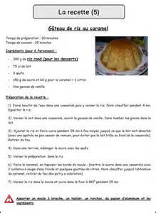 recette cuisine la recette mimiclass
