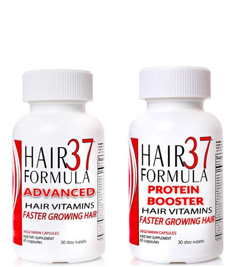 hair formula 37 advanced and protein booster set hair