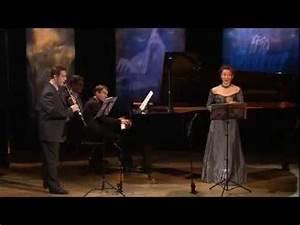 """""""Le Pâtre sur le rocher"""", pour voix, clarinette et piano ..."""