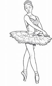 Ballet coloring pages for adults printable - ColoringStar