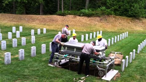 Burial Backyard by S Burial Tahoma National Cemetery July 17 2014