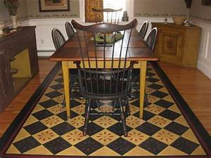 Floor cloth patterns timeless floorcloths home for How to paint a floor cloth
