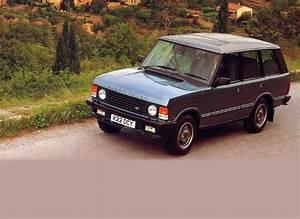 Range Rover Workshop Manual Model 1987