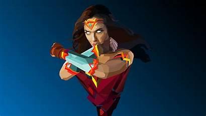Wonder Woman 4k Wallpapers Artwork Minimalist Ultra