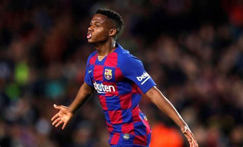Barcelona star Ansu Fati's match against Villarreal in ...