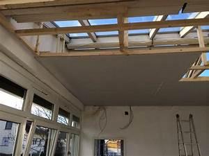 Zwischendecke Aus Holz : zwischendecke aus rahmenschenkel rigips das glasdach ist altbestand 2 ~ Sanjose-hotels-ca.com Haus und Dekorationen