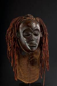 Masque Chokwe Tshokwe Mwana Pwo Mask - African Art Africain  Rdc