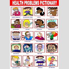 Health Problems Pictionary