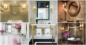 Stylish, Powder, Room, Decor, Ideas, For, A, Greater, Enjoyment