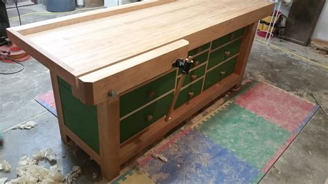 shaker workbench finewoodworking