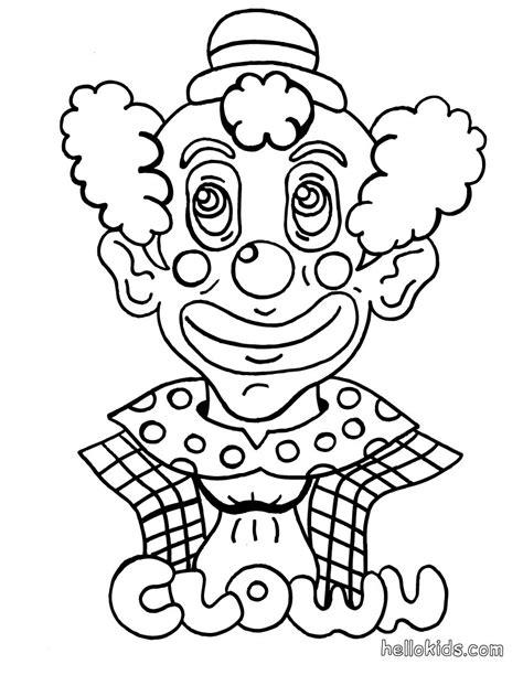 clown coloring pages hellokidscom