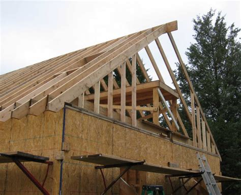 gable roof frame framing gable garage pictures to pin on pinterest pinsdaddy