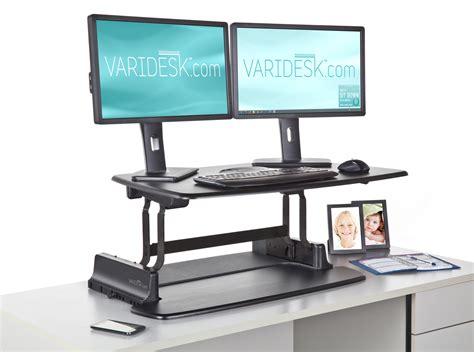 varidesk standing desk timer varidesk convert existing desk into standing desk