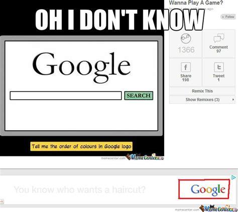 Google It Meme - this ad was beneath the quot google colours meme quot when i saw it by spudnik69 meme center