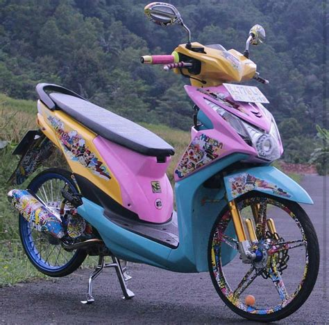 Gambar Motor Beat Modif 97 foto modifikasi motor metic beat teamodifikasi