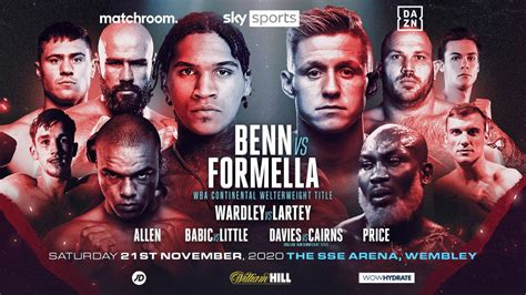 Benn vs. Formella - undercard press conference quotes ...
