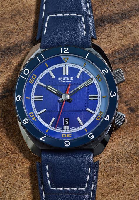 Gruman Sputnik Diver Preorder | Dive Watches Blog