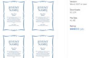 Event Run Sheet Template 5k Flyer Templates Af Templates