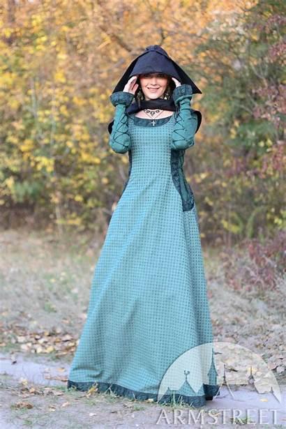 Medieval Princess Surcoat Autumn Armstreet Costume Linen