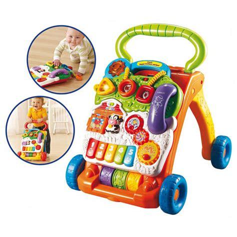 orange table l trotteur parlant 2 en 1 orange vtech king jouet