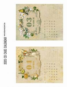 Printable May 2020 Calendar Free Printable Calendar 2020 Cd Case Calendar The
