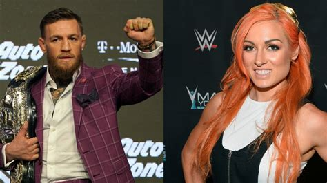 conor mcgregor drops huge wwe hint   hails