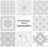 Coloring Quilt Pages Blank Printable Pattern Patterns Sheets Template Crazy Quilting Adult Colouring Templates Star Beginners Sketch Line Fromblankpages sketch template