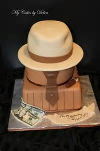 50th theme cake for a man quot hat cake quot birthday ideas