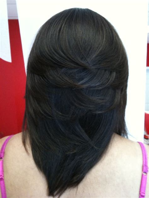 Layered Sew In Weave Hairstyles by Asymmetrical Color Bob Sew Ins Hairstyle 2013