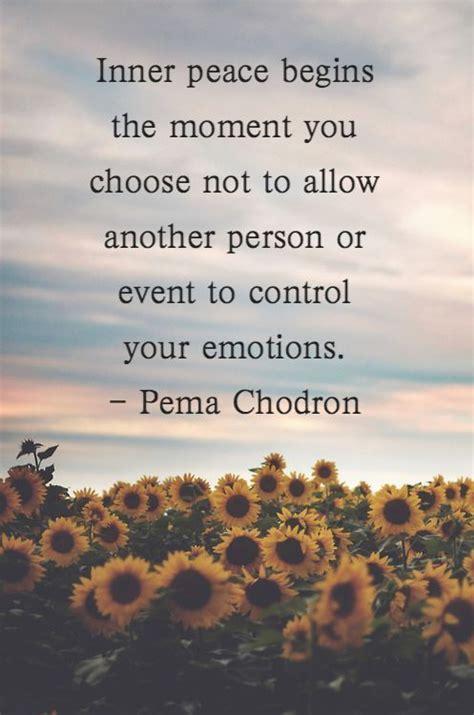 peace begins  moment  choose