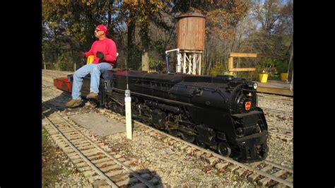 Ride On Backyard Trains - big live steam locomotives at mill creek central backyard