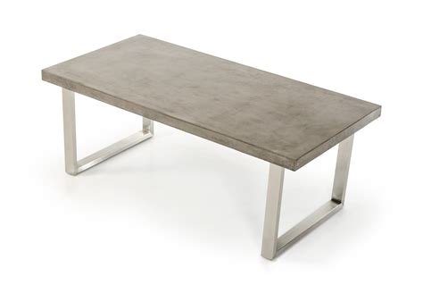 31619 stylish dining table contemporary modrest mear modern concrete dining table modern dining