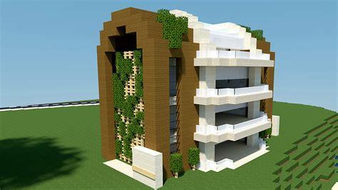 Minecraft Tuto Immeuble Moderne ! Youtube