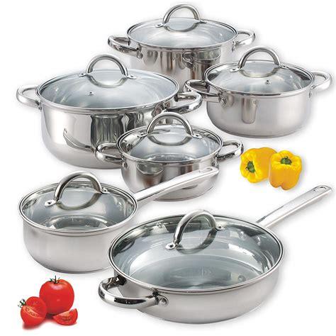 New! 6 Piece Pots & Pans Kitchen Home Cooking Set