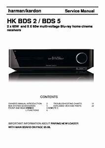 Harman Kardon Bds 2  Serv Man8  Service Manual  U2014 View