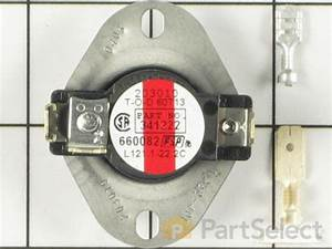 Whirlpool 279052 - High Limit Thermostat