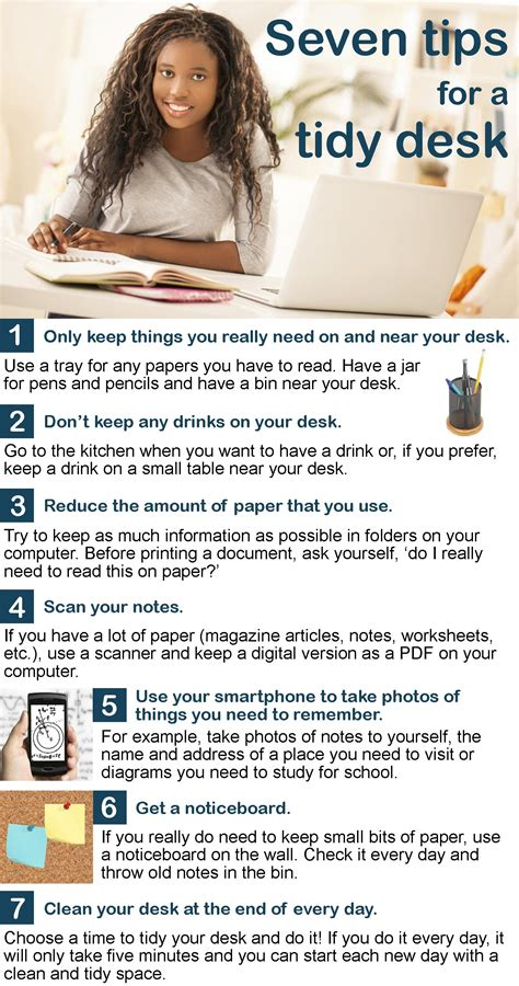 7 Tips For A Tidy Desk  Learnenglish Teens  British Council
