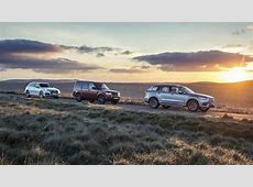 Triple test Volvo XC90 vs Audi Q7 vs Land Rover Discovery