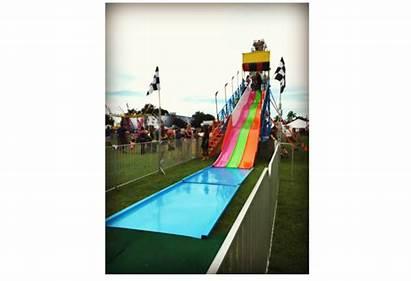 Slide Fun Midways Carnivals Toss Quarterback Party
