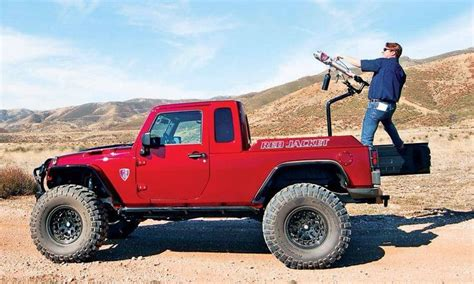 jeep truck conversion red jacket jeep truck jeep ollllo pinterest red