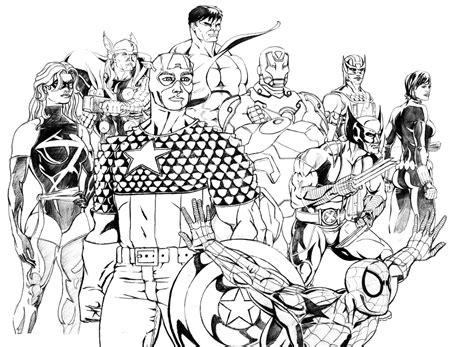 Coloriage Avengers Les Beaux Dessins De Super Hros
