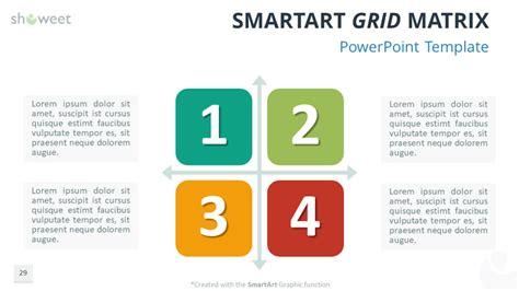 matrix templates  powerpoint