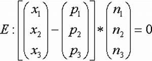 Normalenvektor Berechnen : lagebeziehungen zwischen ebenen und geraden berechnen eines normalenvektors aus einer ~ Themetempest.com Abrechnung