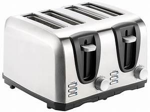 4 Schlitz Toaster : rosenstein s hne edelstahl toaster f r 4 scheiben 1300 w ~ Michelbontemps.com Haus und Dekorationen