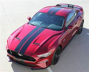 BEST! 2018 Ford Mustang Racing Stripes Graphics 3M STAGE RALLY