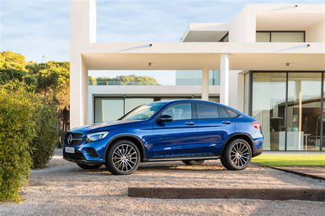 Mercedes Glc Class Backgrounds by Blue Car Mercedes Glc Class Wallpapers And Images