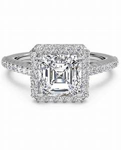 asscher cut diamond engagement rings martha stewart weddings With asscher cut diamond wedding rings