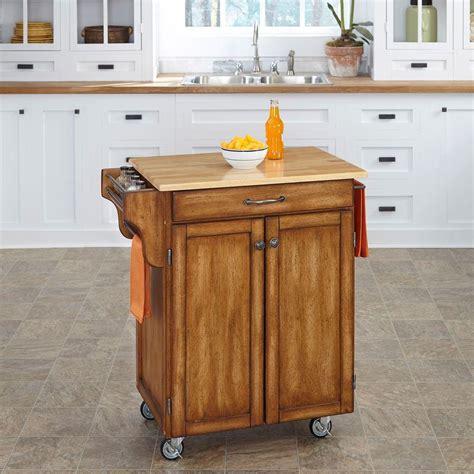 Napa Kitchen Cart by Home Styles Napa Kitchen Cart With Storage 5099 95